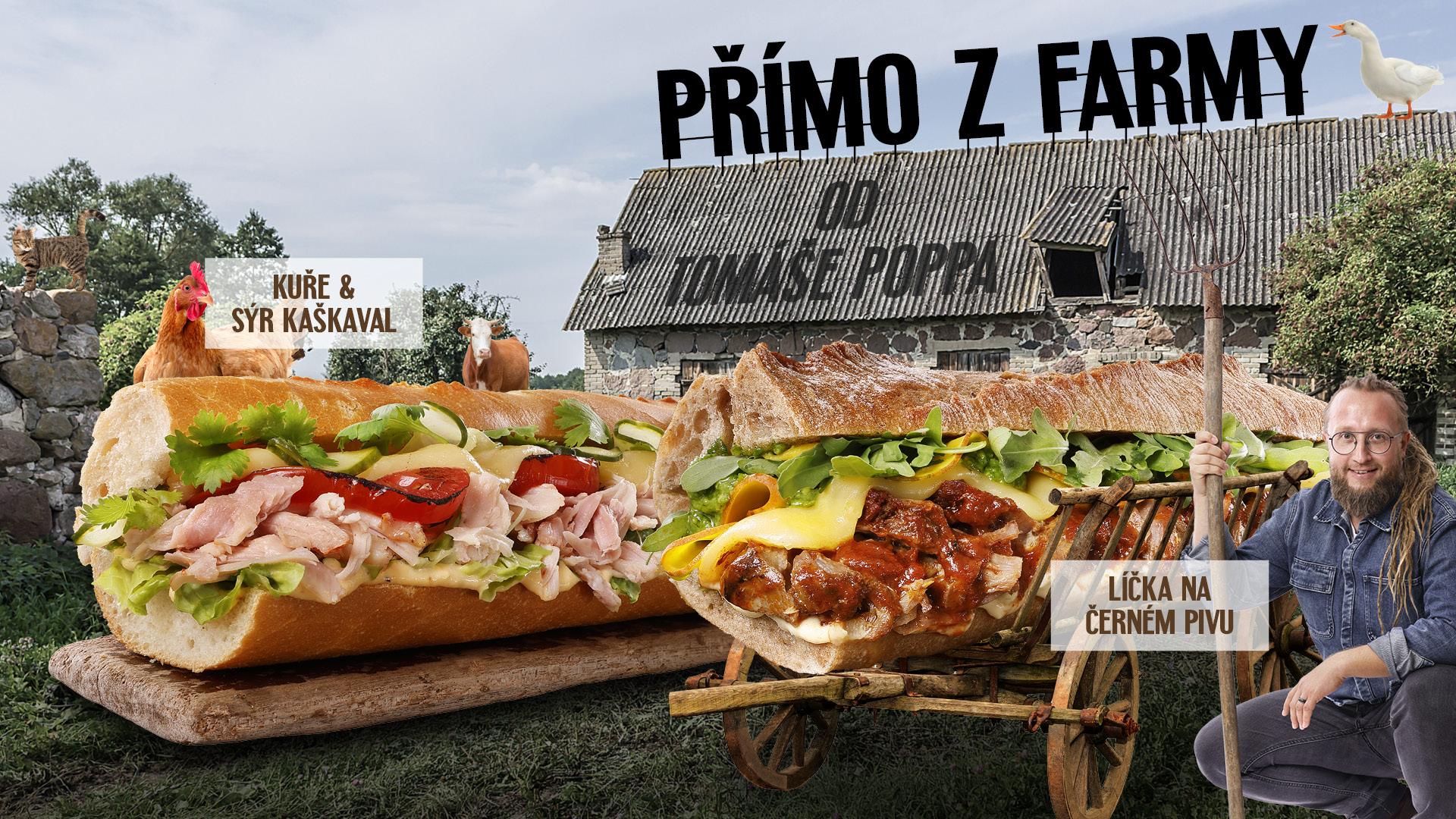 Chef menu z Farmy - Tomáš Popp