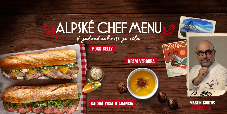 zimní chef menu