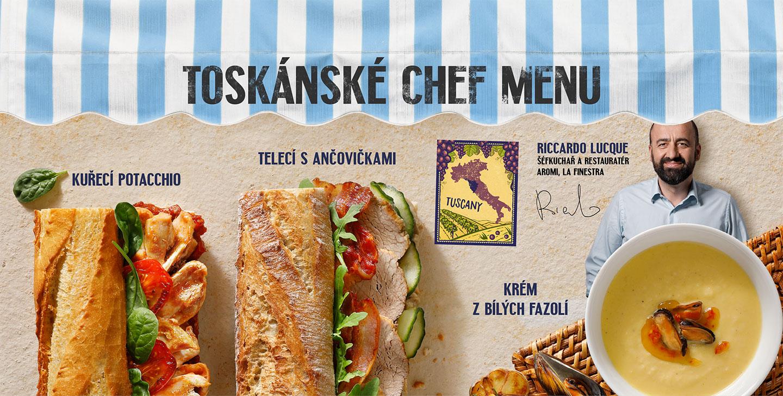 Toskánské menu Fit