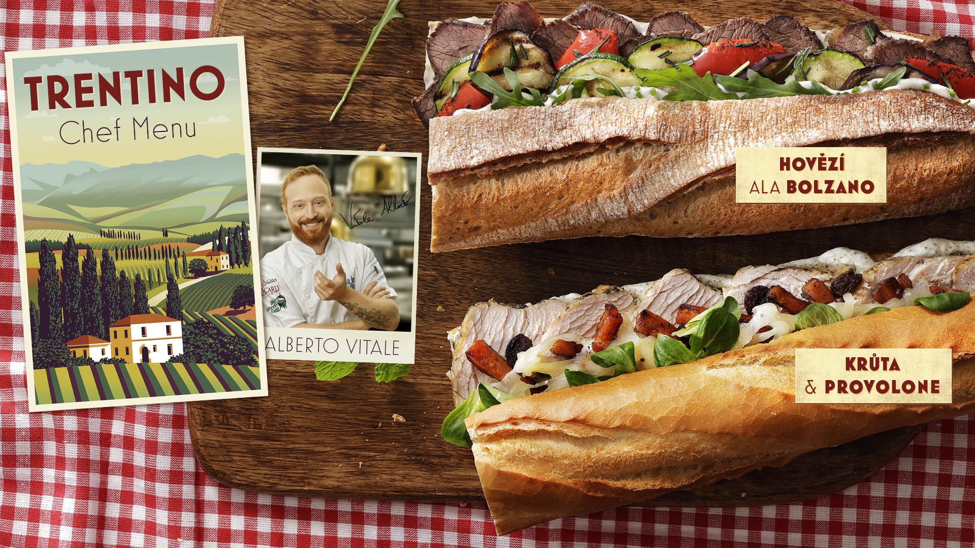 Trentino Chef menu