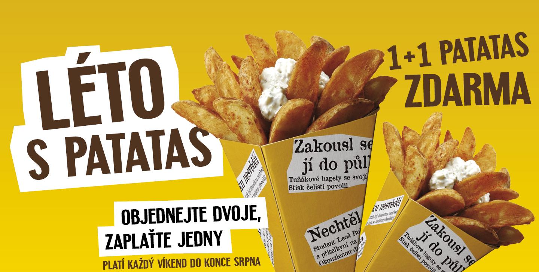 1+1 Patatas ZDARMA