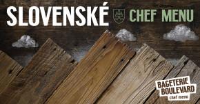 Slovenské Chef menu se blíží