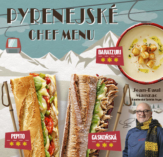 Pyrenejské Chef menu