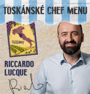Toskánské chef menu